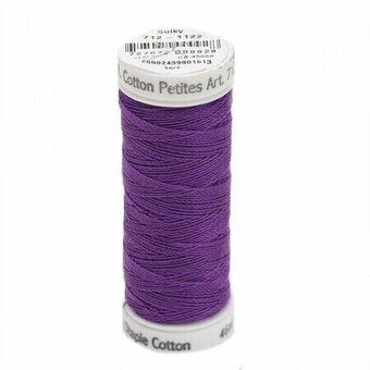 Purple - Sulky 12wt Cotton Petites Thread 50 yds
