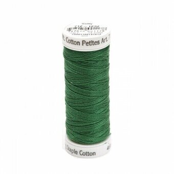 Classic Green - Sulky 12wt Cotton Petites Thread 50 yds