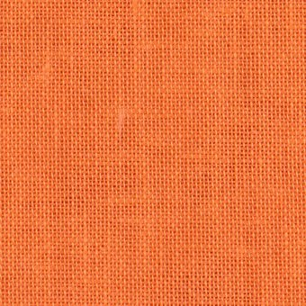 28 Count Tropical Orange Linen Fabric 13x18