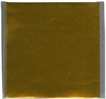"Gold Foil Origami Paper 3""X3"" 100 Sheets"