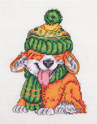 A Little Corgi - Cross Stitch Kit