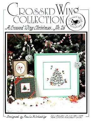 Crossed Wing Christmas - Cross Stitch Pattern