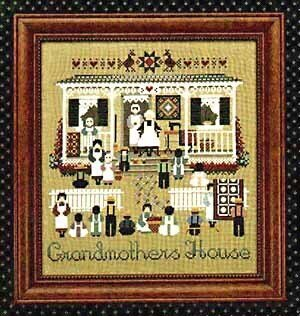 Grandmothers House - Cross Stitch Pattern
