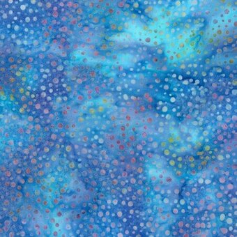 Robin Bali Dots Batik 100% Cotton Fabric Fat Quarter