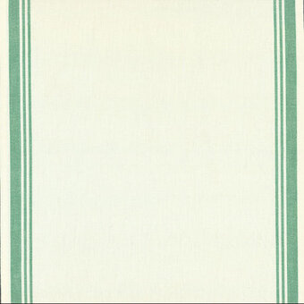 "Green Border 16"" x 18"" Toweling Fabric"