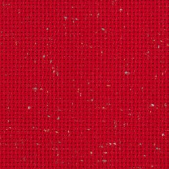 10 Count Christmas Red Heatherfield Fabric 26x36
