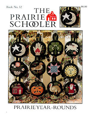 Prairie Year-Rounds - Cross Stitch Pattern