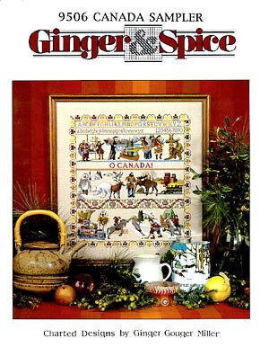 Canada Sampler - Cross Stitch Pattern