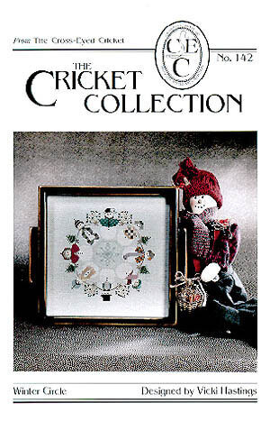 Winter Circle #142 - Cross Stitch Pattern