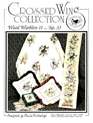 Wood Warblers II - Cross Stitch Pattern
