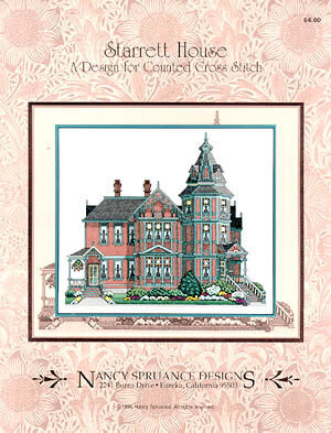 Starrett House - Cross Stitch Pattern