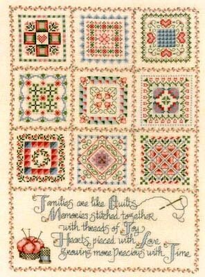 Threads of Joy - Cross Stitch Pattern