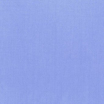 Cornflower Blue Cotton Solid Fabric Fat Quarter