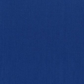 Denim Blue Cotton Solid Fabric Fat Quarter