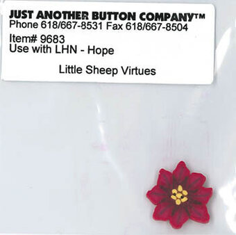 Buttons for - Hope - (Little Sheep Virtues)