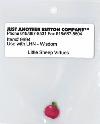 Button for Little Sheep Virtues Wisdom