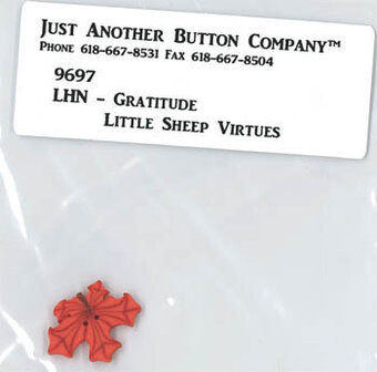 Little Sheep Virtues Gratitude - Button Pack