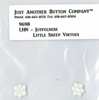 Little Sheep Virtues - Joyfulness - Button Pack