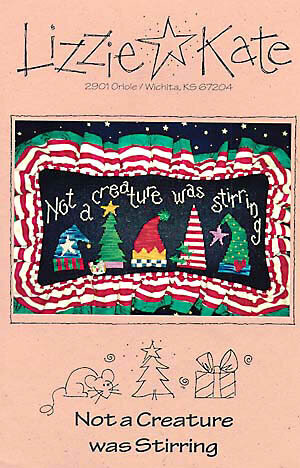 Not A Creature - Cross Stitch Pattern