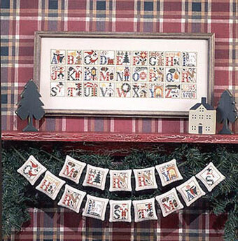 Christmas Alphabet - Cross Stitch Pattern