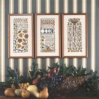 Autumn Samplers - Cross Stitch Pattern