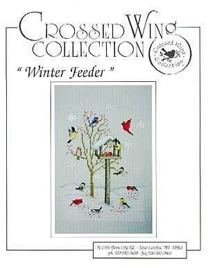 Winter Feeder - Cross Stitch Pattern