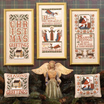 Christmas Samplers II - Cross Stitch Pattern