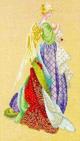 In The Arms of an Angel - Cross Stitch Pattern