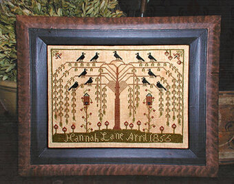 Willow Tree Sampler - Cross Stitch Pattern