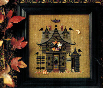 Three Gables #187 - Cross Stitch Pattern