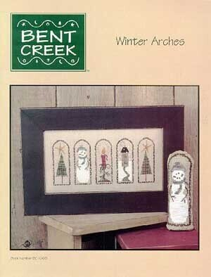 Winter Arches - Cross Stitch Pattern