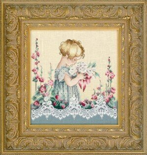 Emma's Garden - Cross Stitch Pattern