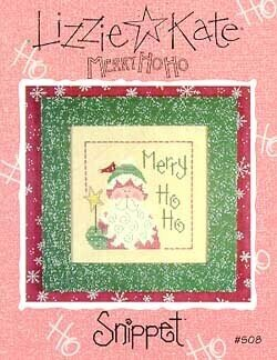 Merry Ho Ho - Cross Stitch Pattern