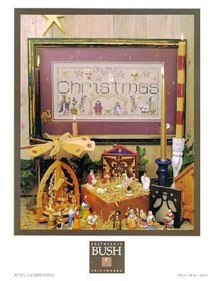 Joyful Christmas - Cross Stitch Pattern