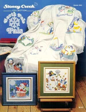 North Pole Pals - Cross Stitch Pattern