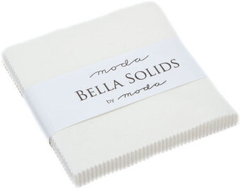 Moda Bella Solids Charm Pack - Off White