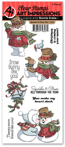 Sparkle and Cheer - Clear Stamp Set