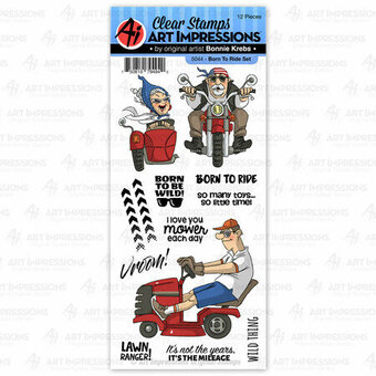 Born To Ride - Clear Stamp Set