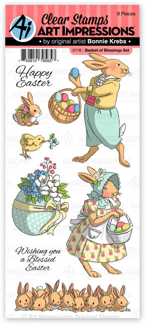 Basket of Blessings - Easter Clear Stamp Set