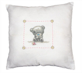 Tiny Tatty Nursery Cushion - Cross Stitch Kit