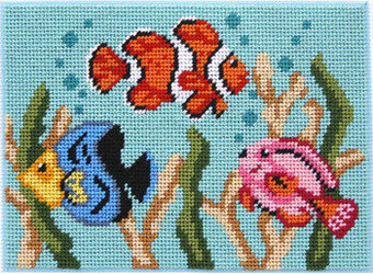 Tropical Fish - Canoodles Needlepoint Kit