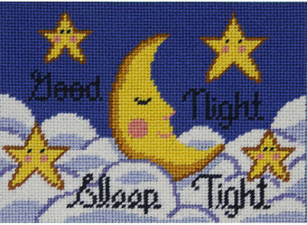 Good Night Moon - Canoodles Needlepoint Kit