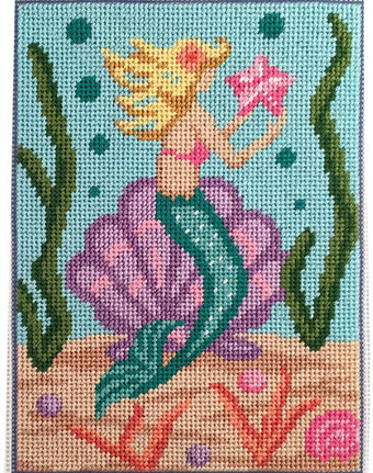 Mermaid - Canoodles Needlepoint Kit