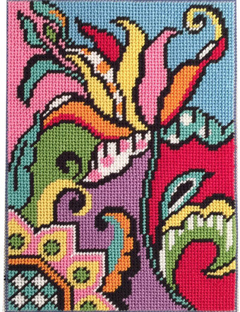Tulip Abstract - Canoodles Needlepoint Kit