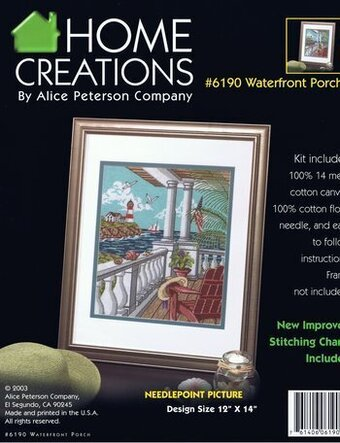 Waterfront Porch - Needlepoint Kit