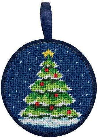 ... Peterson Christmas Tree Christmas Ornament - Needlepoint Kit SU7005