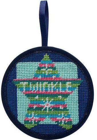 Twinkle Twinkle Star Christmas Ornament - Needlepoint Kit