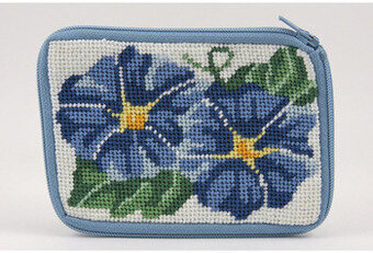 Coin Purse - Morning Glory - Needlepoint Kit