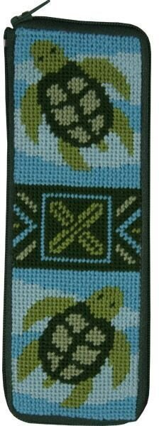 Spec Case - Turtles - Needlepoint Kit
