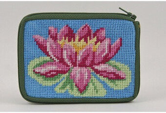 Coin Purse - Waterlily - Needlepoint Kit